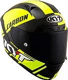KYT Casco NX RACE CARBON RACE-D YELLOW FLUO - S