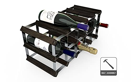 RTA Juego de 15 Botellas de Vino Tradicional - Pino Negro (FSC)