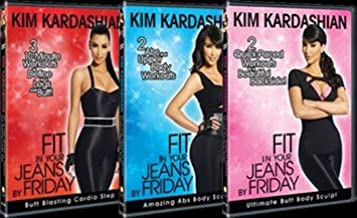 Kim Kardashian: Fit in Your Jeans By Friday: 3 DVD Set