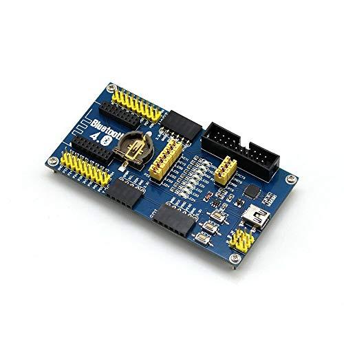 YEZIB Accesorios electrónicos de Bricolaje, Junta de Desarrollo Módulo Bluetooth BLE4.0 Tablero de Desarrollo 2.4G Kit de Consumo de energía bajo NRF51822