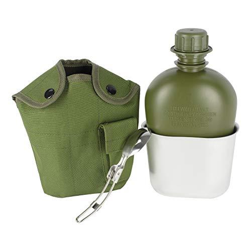Begrit 1quart extérieur bouilloire Canteen kit avec couvercle de tasse et en...