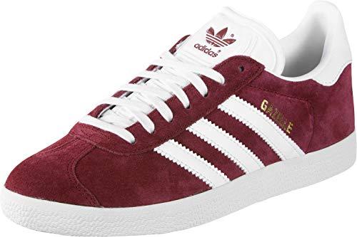 adidas Gazelle, Scarpe da Fitness Uomo, Rosso (Buruni/Ftwbla/Dormet 000), 36 2/3 EU