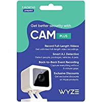 Wyze Cam Plus 3 Month Subscription