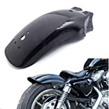 Black Motorcycle Metal Rear Fender Mudguard for Kawasaki Suzuki Yamaha
