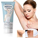 Whitening Cream Effective Lightening Cream for Armpit, Knees, and Private Areas, Brightens & Nourishes Repairs Skins (1 Fl Oz)