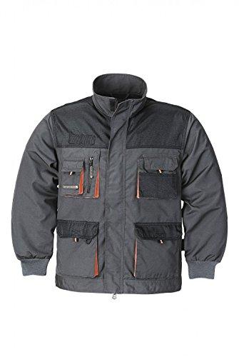 Terratrend JOB Arbeitsjacke, Farbe grau/schwarz/orange, Gr��e 50