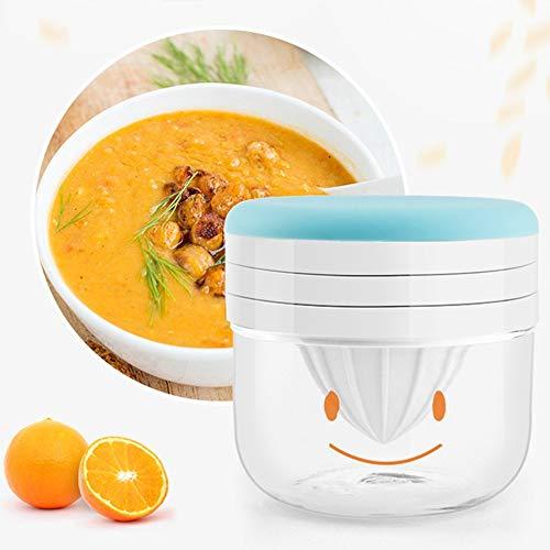 QYWJ Procesador de Alimentos para bebés, Multifuncional Food Masher con Marcas de graduación, Juego de Molinillo de suplemento de Alimentos para bebés (10 * 10 cm)