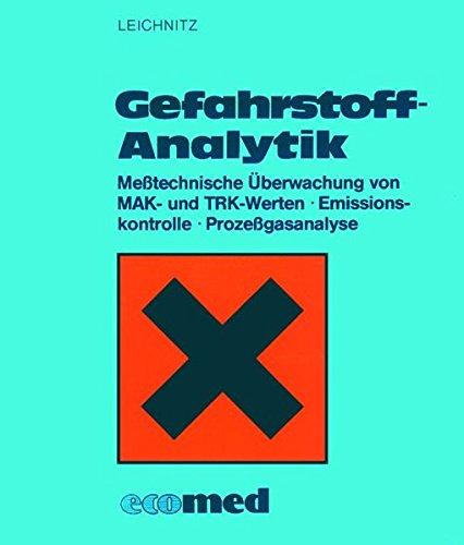 Gefahrstoff-Analytik: Messtechnische Überwachung von MAK- und TRK-Werten · Emissionskontrolle, Prozessgasanalyse