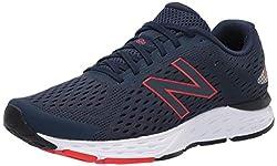 powerful New Balance 680 V6 Men's Running Shoes, Natural Indigo / Eclipse, US 15M