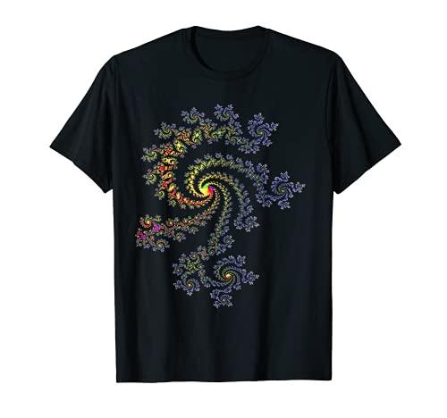 Andreas Steinweg - マンデルブロ・フラクタル Tシャツ