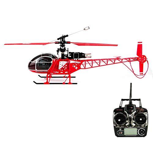 efaso WL Toys V915 RC helicóptero por radio control (RC) Helicóptero de 4 canales 2,4 GHz Giroscopio