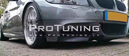For E90 E91 08-11 LCI M-Sport splitters/Elerons/Flaps for front bumper