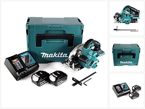 Makita DHS 661 RTJU Accu cirkelzaag 18V 165mm in Makpac + 2x 5,0Ah accu + oplader