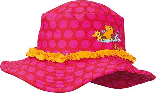 Playshoes DIE Maus Baby-Mädchen UV-Schutz Maus Punkte Sonnenhut, Rosa (original 900), 55 cm