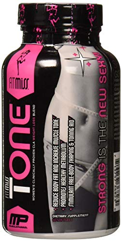 Fitmiss Tone Stimulant Free Mid-Section Fat Metabolizer, Capsules, 60 Count