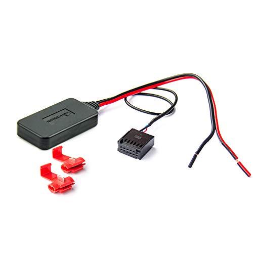 Watermark Vertriebs GmbH & Co. KG Bluetooth Aux Adapter für Ford 5000C 6000CD Radio MP3 Musik Stream