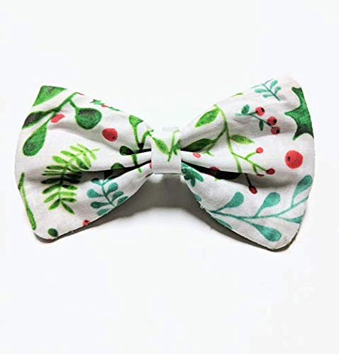 Christmas Holly Pet Bow tie