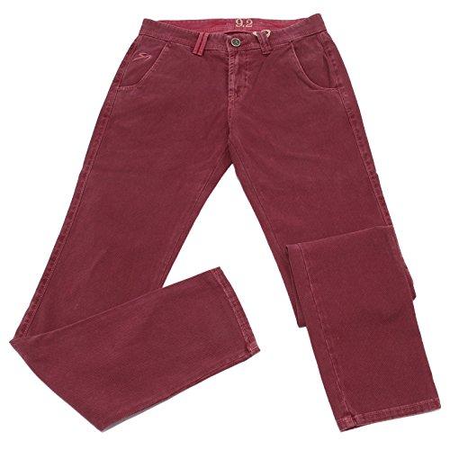 Carlo Chionna 2035W Pantaloni Uomo 9.2 Bordeaux Cotton Trouser Man [31]