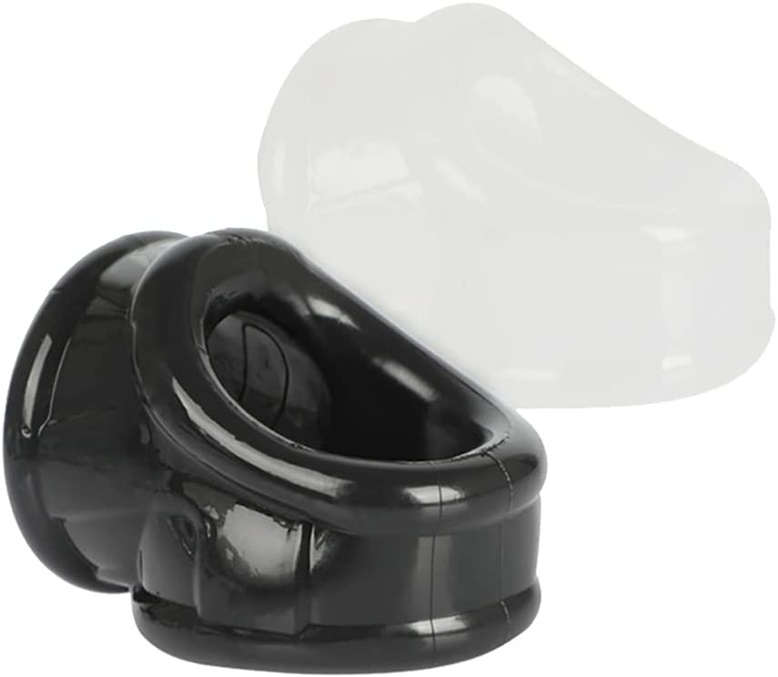 HEALLILY 2Pcs Cook Ring Discount Max 61% OFF mail order Chastity Device Lock Penis Cag Male Cock