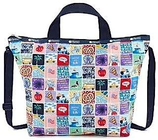 NY to LA Easy Carry Tote Crossbody + Top Handle Handbag, Style 2431/Color K602 (New York to Los Angeles, Exclusive)