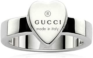 Silver Heart Trademark Ring 57(FR) -8(US)-P 1/2(UK) YBC223867001017