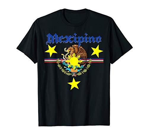 Mexipino Shirt Filipino and Mexican Pride T-Shirt Mexico PI