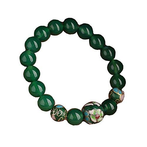 Bijoux Tissé style Agate Bracelet Retro chinois Bracelets ethniques main