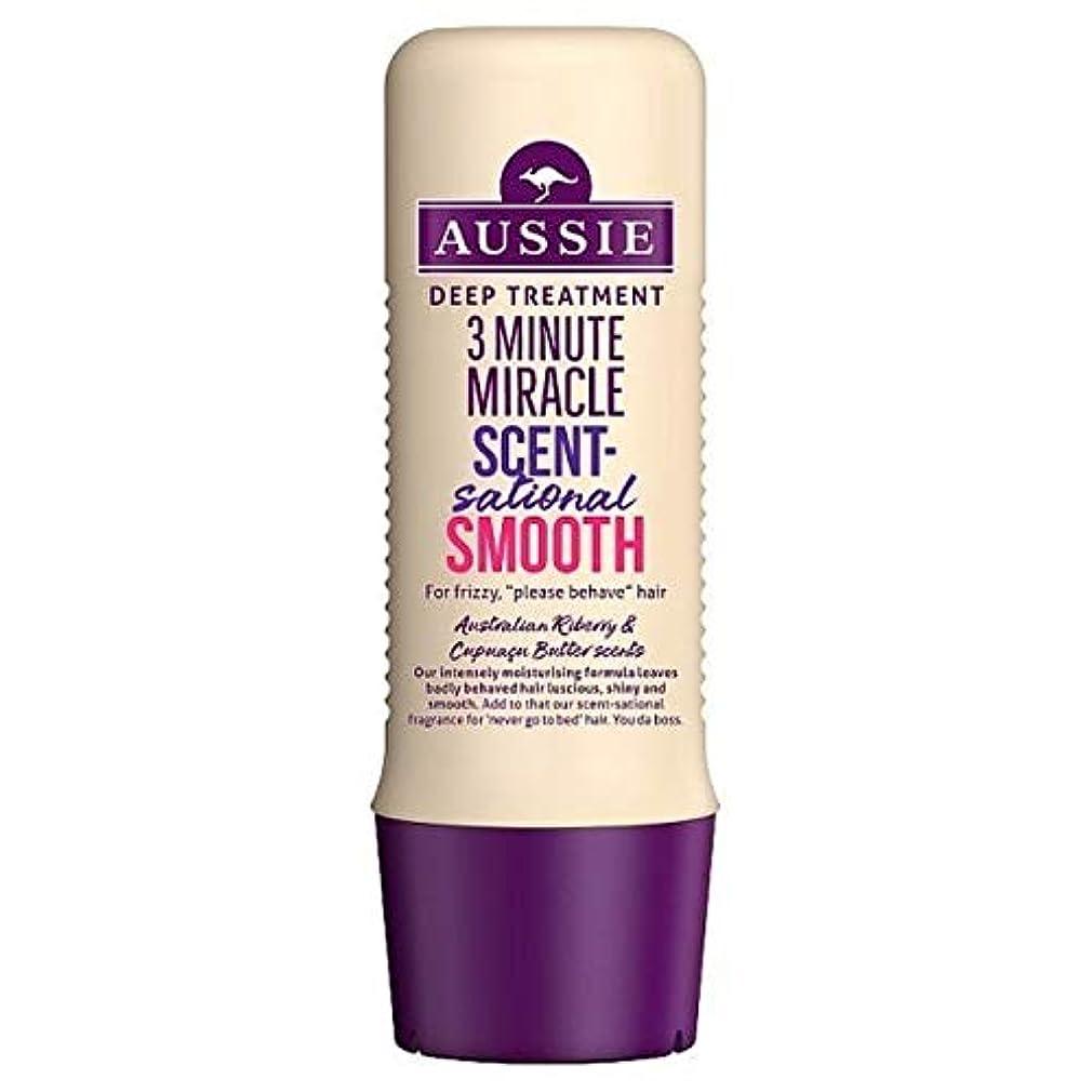 懺悔に虎[Aussie ] オージー3分の奇跡Scentsational Shampo 250ミリリットル - Aussie 3 Minute Miracle Scentsational Shampo 250ml [並行輸入品]