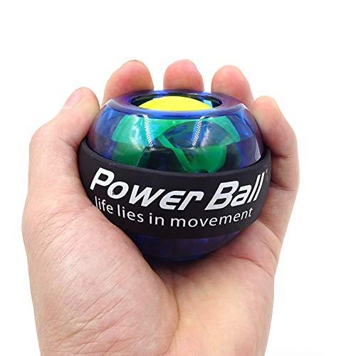 None/Brand LED Wrist Ball Trainer Gyroscope Enhancer Gyroscope Power Ball Arm Exerciser Fitness Machine Fitness Equipment