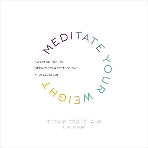 Meditate Your Weight audiobook cover art