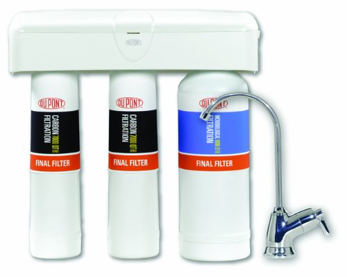 DuPont WFQT390005 QuickTwist 3-Stage Drinking Water Filtration System -