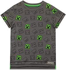 Minecraft - Camiseta para niño 11-12 Años