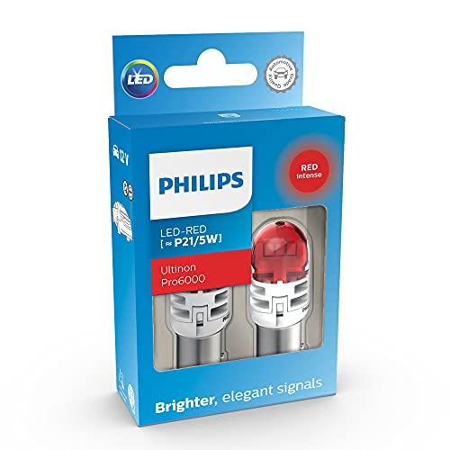 Philips Ultinon Pro6000 LED foco de señalización para automóvil (P21/5W red)