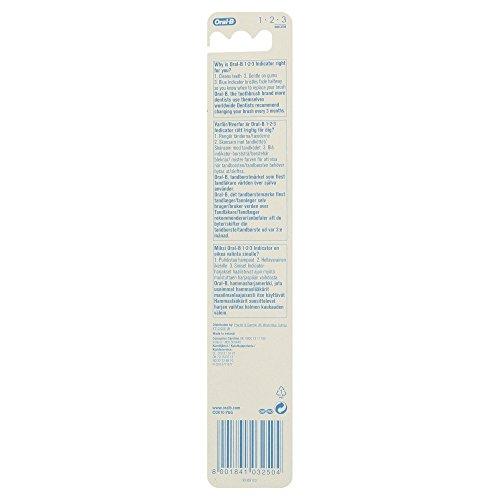 Oral-B 123 Indicator Medium Manual Toothbrush