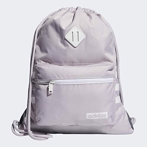 adidas Mochila unisex Classic 3s, Unisex, Bolsa, 976595, Malva/Blanco, Talla única