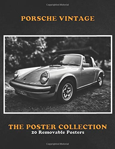 Poster Collection: Porsche Vintage High Resolution Monochrome Photography Of 1977 Classic Cars