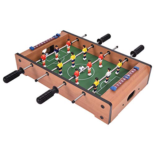 Best Price Enjoy Mini-Games Tabletop Foosball with Accessories/Easy to Play/Kids & Adults/Lightweigh...