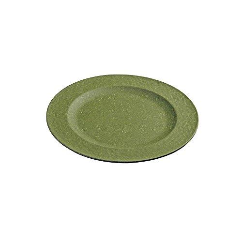 zuperzozial Kleiner Teller, gehämmert, Moosgrün, Nylon/A