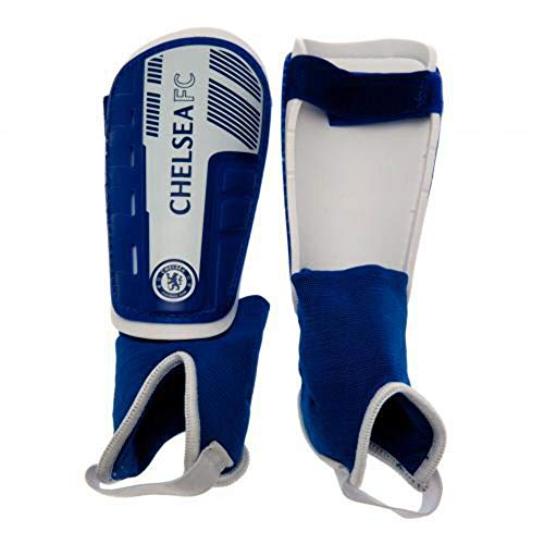 Chelsea FC Unisex's Anklet Shinpads, Blue, One Size