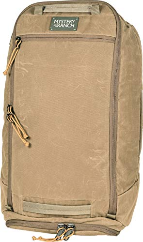 MYSTERY RANCH Mission Duffle Bag - Waterproof Luggage for Travel Bag, Waxed Wood, 55L