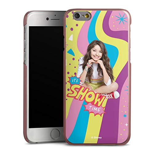DeinDesign Handyhülle kompatibel mit Apple iPhone 6 Cover rosé Gold Schutzhülle Offizielles Lizenzprodukt Soy Luna Disney