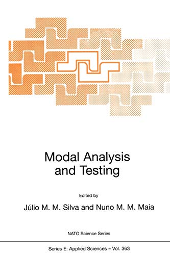 Modal Analysis and Testing: Proceedings of the NATO Advanced Study Institute, Sesimbra, Portugal, 3-15 May 1998: 363 (Nato Science Series E:)