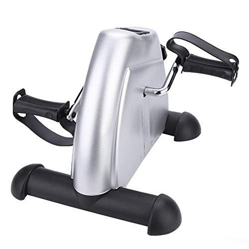 Bicicleta Estática Ajustable Mini, Fitness Pedales de Casa Movimiento Entrenador del Brazo y Pierna con Monitor LCD Ajustable Resistencia Bicicleta Fitness Bicicleta Entrenamiento