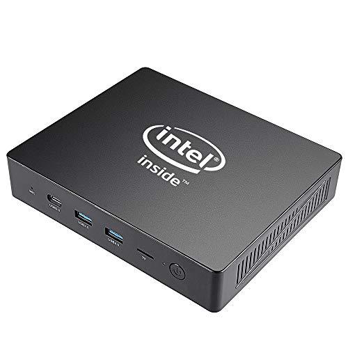 ALRY Mini Pc, Windows 10 64-Bit (6GB+64G) Intel J3455processor, 4K/ HDMI & VGA/2.4G+5.8G Dual Wifi/1000Mbps LAN (J3455 6G/64G)