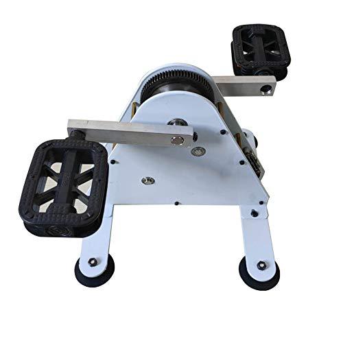 Hörsein 50/100 Watt-Pedalgenerator DC-Ausgang 1-35V Notfall-tragbarer Generator Panwu-Ironless-Generator, dualer USB-Schnellladungsausgabe Handkurbel-Generator,Pedal Generator,100W