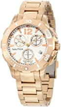 Nautica Men's N24530M BFD 101 Dive Style Chrono Midsize Watch