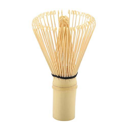 Matcha - Batidor De Té Verde De Bambú Natural, Batidor De Té Chasen Para Preparar Matcha En Polvo, Herramienta De Té Tradicional Cuchara (54 Puntas)
