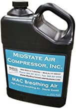 Breathing Air Oil for Air Compressors, High Pressure Reciprocating Air Compressor Lubricating Oil Breathing Safe - SCUBA, SCBA, MEDICAL