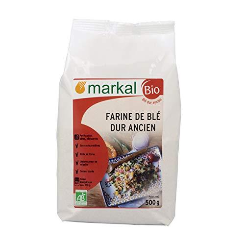 MARKAL - FARINE DE BLE DUR ANCIEN T110 500G