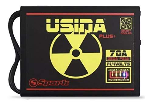 Fonte Automotiva Usina 70 A Battery Meter Carregador Bateria